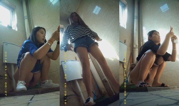 最新流出作品-國內高校公共女廁拍攝各式妹子如廁 個個青春靚麗活力無限絕對誘惑